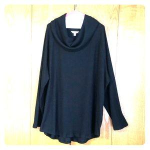 Cowl neck sweater 4X
